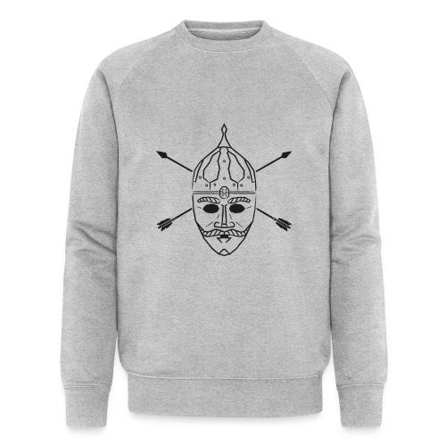 Cuman helmet with arrows - Men's Organic Sweatshirt by Stanley & Stella