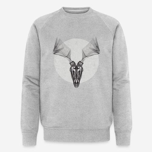 Hirschgeweih - Männer Bio-Sweatshirt von Stanley & Stella