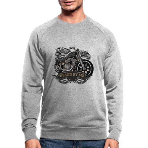 moto - Felpa ecologica da uomo