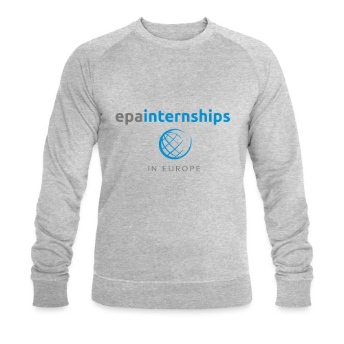 EPA Shirt Grey - Men's Organic Sweatshirt by Stanley & Stella