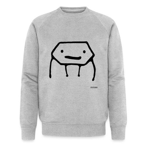 Strichmännchen - Männer Bio-Sweatshirt von Stanley & Stella
