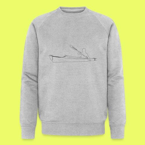 Shilouette Seekajak - Männer Bio-Sweatshirt von Stanley & Stella