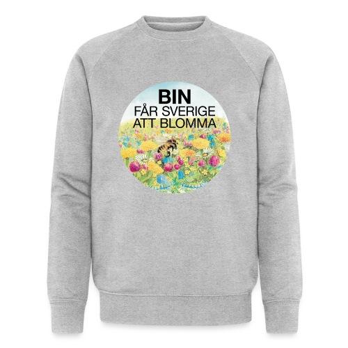 Bin får Sverige att blomma - Ekologisk sweatshirt herr från Stanley & Stella