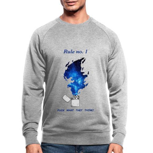 Rule no. 1 - Økologisk sweatshirt til herrer