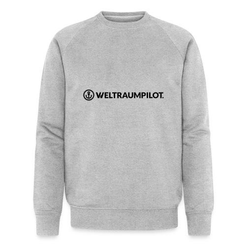 weltraumpilotquer - Männer Bio-Sweatshirt