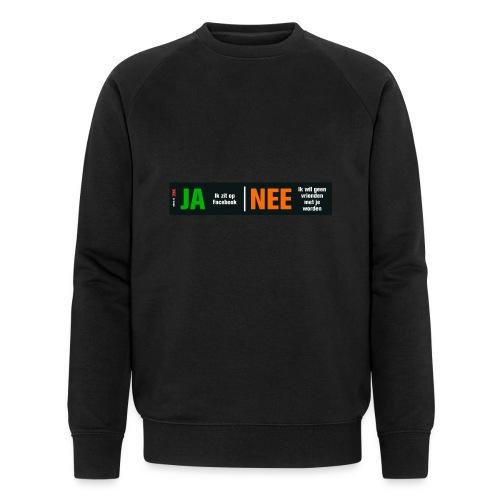 facebookvrienden - Mannen bio sweatshirt van Stanley & Stella