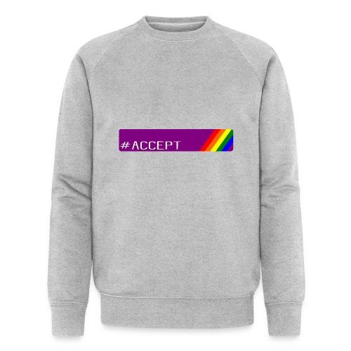 79 accept - Männer Bio-Sweatshirt