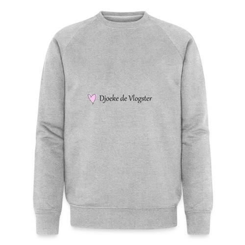 Djoeke de Vlogster logo 2 - Mannen bio sweatshirt van Stanley & Stella