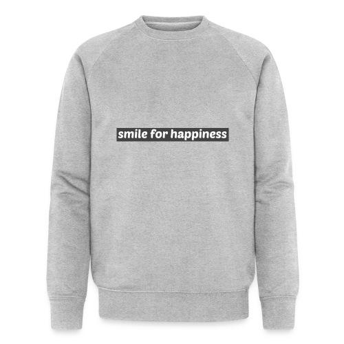 smile for happiness - Ekologisk sweatshirt herr från Stanley & Stella