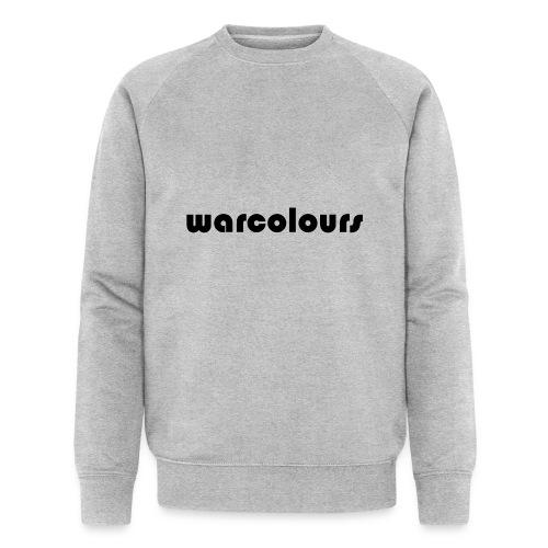 warcolours logo - Men's Organic Sweatshirt by Stanley & Stella