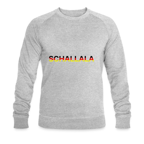 Schallala - Männer Bio-Sweatshirt von Stanley & Stella
