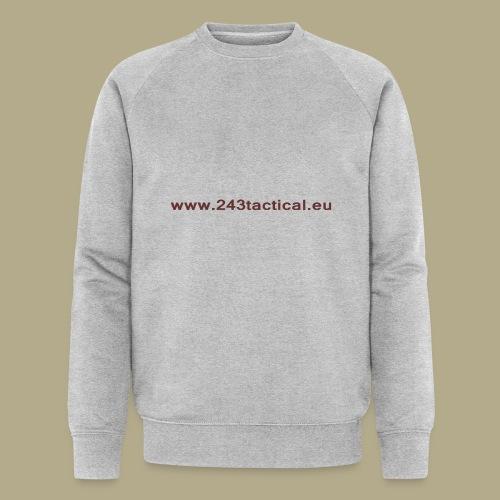 .243 Tactical Website - Mannen bio sweatshirt