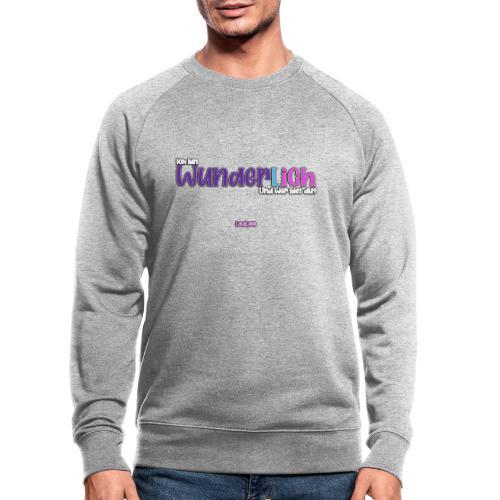 Ich bin WunderlICH - Männer Bio-Sweatshirt