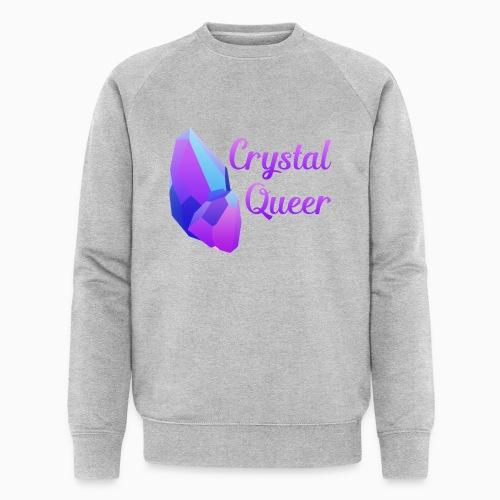 Crystal Queer - Men's Organic Sweatshirt by Stanley & Stella