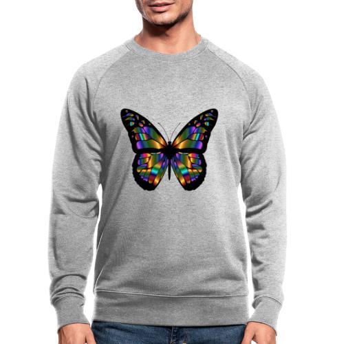 papillon design - Sweat-shirt bio