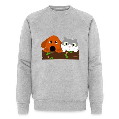Hund & Katz - Männer Bio-Sweatshirt von Stanley & Stella