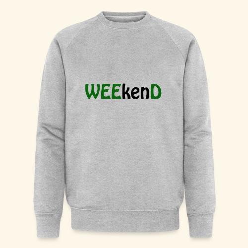 weed - Männer Bio-Sweatshirt von Stanley & Stella
