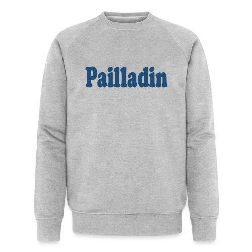 Pailladin bleu - Sweat-shirt bio