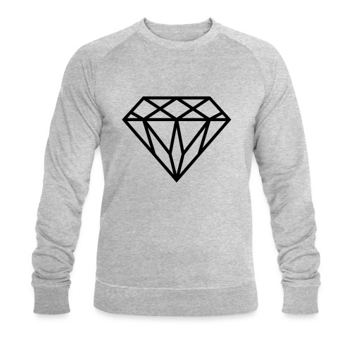 Diamond Graphic // Diamant Grafik - Männer Bio-Sweatshirt von Stanley & Stella