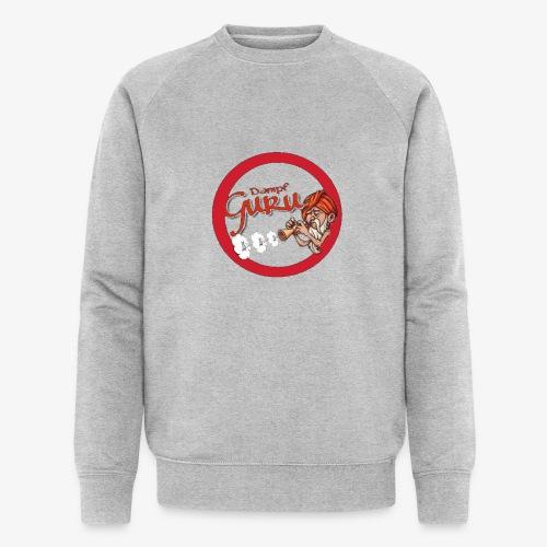 Dampf Guru Logo - Männer Bio-Sweatshirt von Stanley & Stella