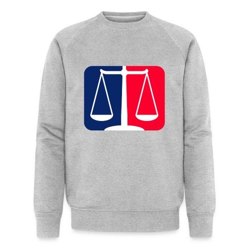 Logo2 - Männer Bio-Sweatshirt