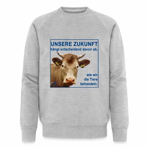 Parteishirt Zukunft - Männer Bio-Sweatshirt von Stanley & Stella