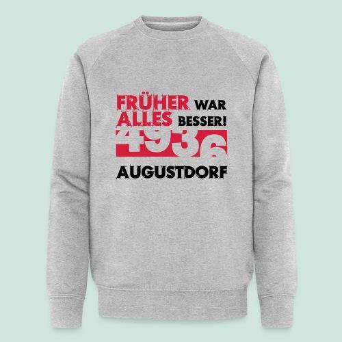 Früher 4936 Augustdorf - Männer Bio-Sweatshirt von Stanley & Stella