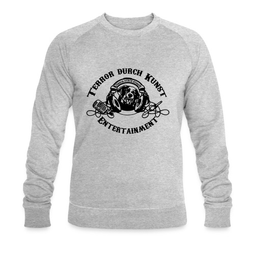 tdklogoschwarz 3 - Männer Bio-Sweatshirt