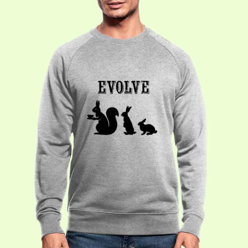 EvolveBunny - Mannen bio sweatshirt