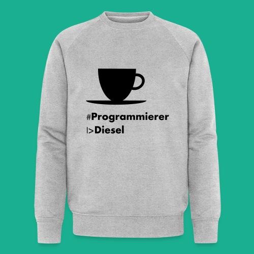 Kaffediesel - Männer Bio-Sweatshirt von Stanley & Stella