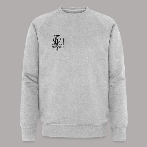 Zirkel, schwarz (vorne) Zirkel, schwarz (hinten) - Männer Bio-Sweatshirt von Stanley & Stella