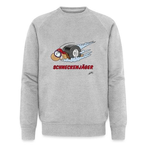 Schneckenjäger - Männer Bio-Sweatshirt von Stanley & Stella