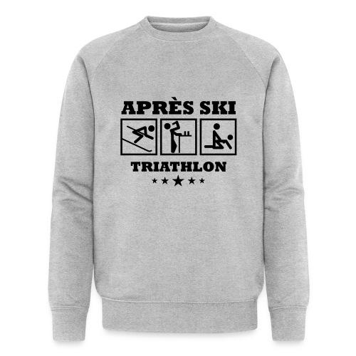 Apres Ski Triathlon | Apreski-Shirts gestalten - Männer Bio-Sweatshirt von Stanley & Stella