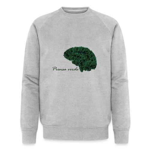 Piensa verde - Sudadera ecológica hombre