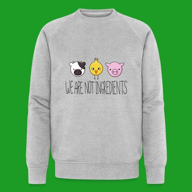 Vegan - We are not ingredients