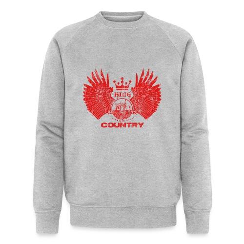 IH KING of the COUNTRY (Red design) - Mannen bio sweatshirt van Stanley & Stella
