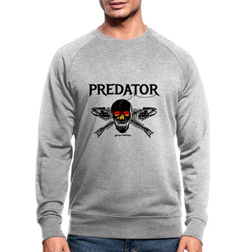 predator fishing / gone fishing - Männer Bio-Sweatshirt