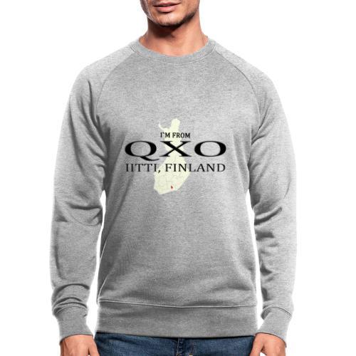 QXO - Miesten luomucollegepaita