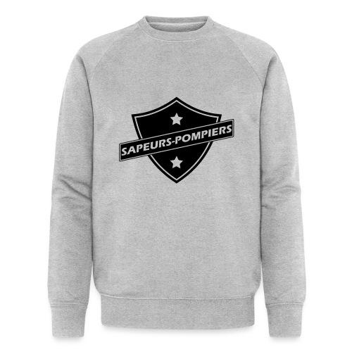 blason sapeurs-pompiers - Sweat-shirt bio Stanley & Stella Homme
