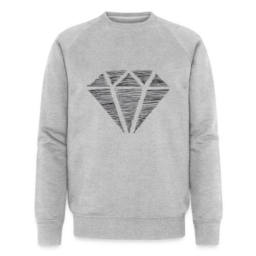 Diamante - Sudadera ecológica hombre