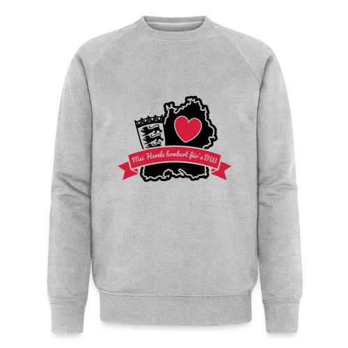Herzle BW - Männer Bio-Sweatshirt von Stanley & Stella