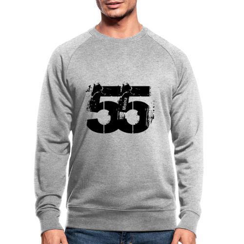 City_55_Mainz - Männer Bio-Sweatshirt