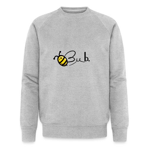 Bee b. Logo - Men's Organic Sweatshirt by Stanley & Stella