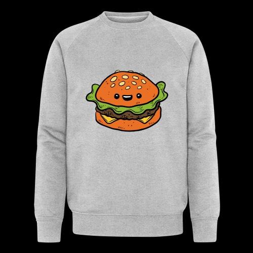 Star Burger - Mannen bio sweatshirt van Stanley & Stella