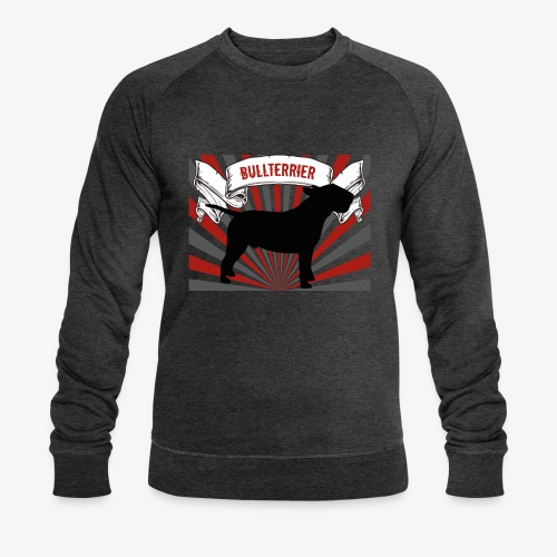 Bullterrier - Männer Bio-Sweatshirt von Stanley & Stella