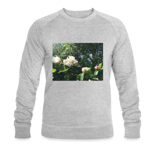 The Flower Shirt - Æbleblomster - Økologisk sweatshirt til herrer
