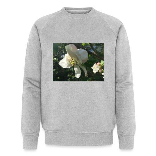 The Flower Shirt - Æble - Økologisk sweatshirt til herrer