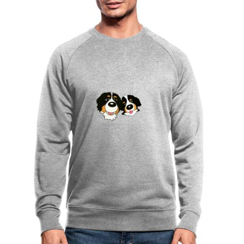 hane och hona - Ekologisk sweatshirt herr