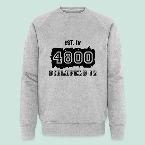 Established 4800 Bielefeld 12 - Männer Bio-Sweatshirt von Stanley & Stella