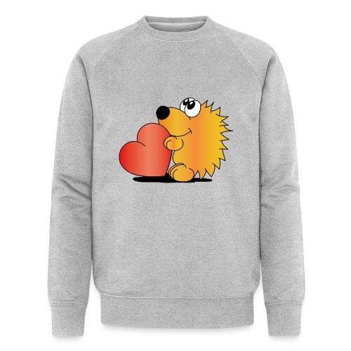 Igelchen - Männer Bio-Sweatshirt von Stanley & Stella